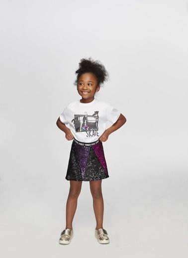 Tyess Tyess B&G Siyah Kız Çocuk Etek Siyah